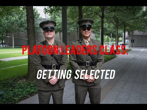 PLC Explained: How to get Selected for Marine Corps Officer