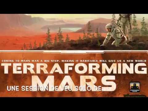 Session de jeu solo de Terraforming Mars - Épisode 1