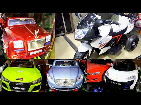 New Sports Bikes & Cars For Kids | Battery Operated Vehicles | Electric Bikes & Cars Toys Market