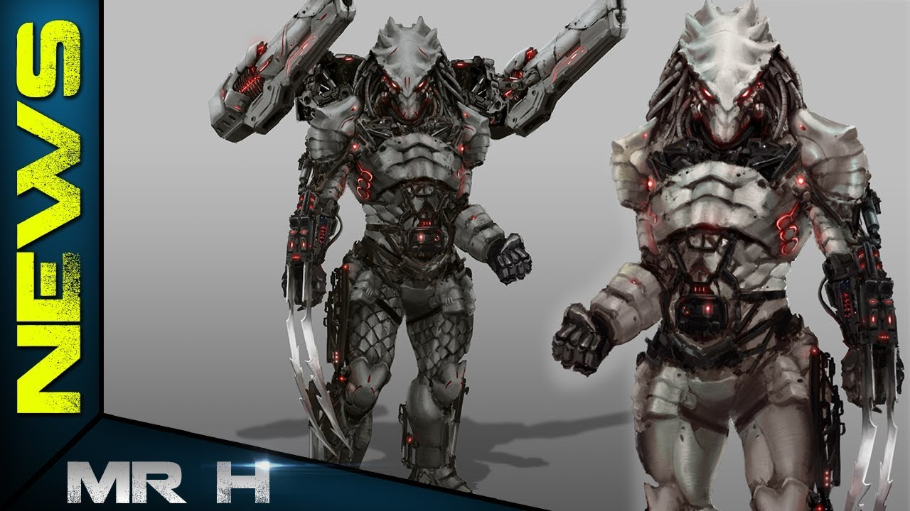 The Predator Concept Art REVEALS The Iron Predator Ending