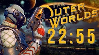 The Outer Worlds Any% Speedrun | 22:55.3