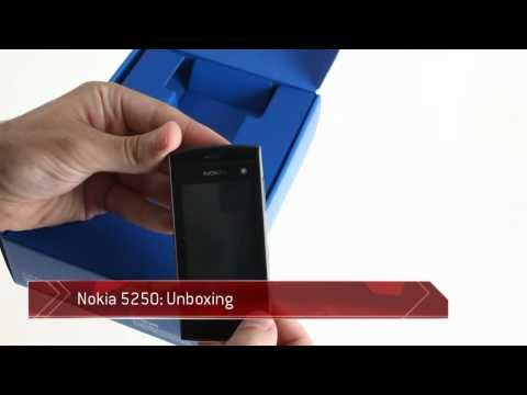 Unboxing the Nokia 5250