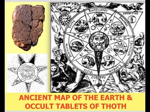 The Most Powerful Occult Knowledge Known to Man - Thoth Emerald Tablets