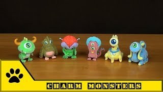 Charm Distribox. Серия Charm Monsters - фигурки забавных инопланетян