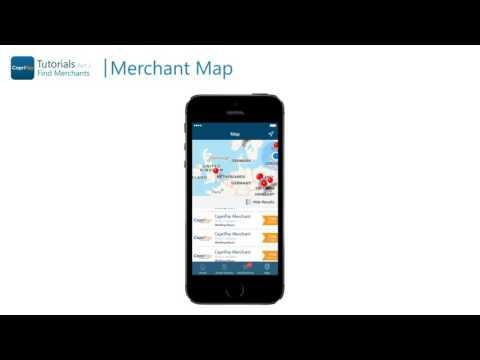 CapriPay App Tutorial Part 2   Finding Merchants
