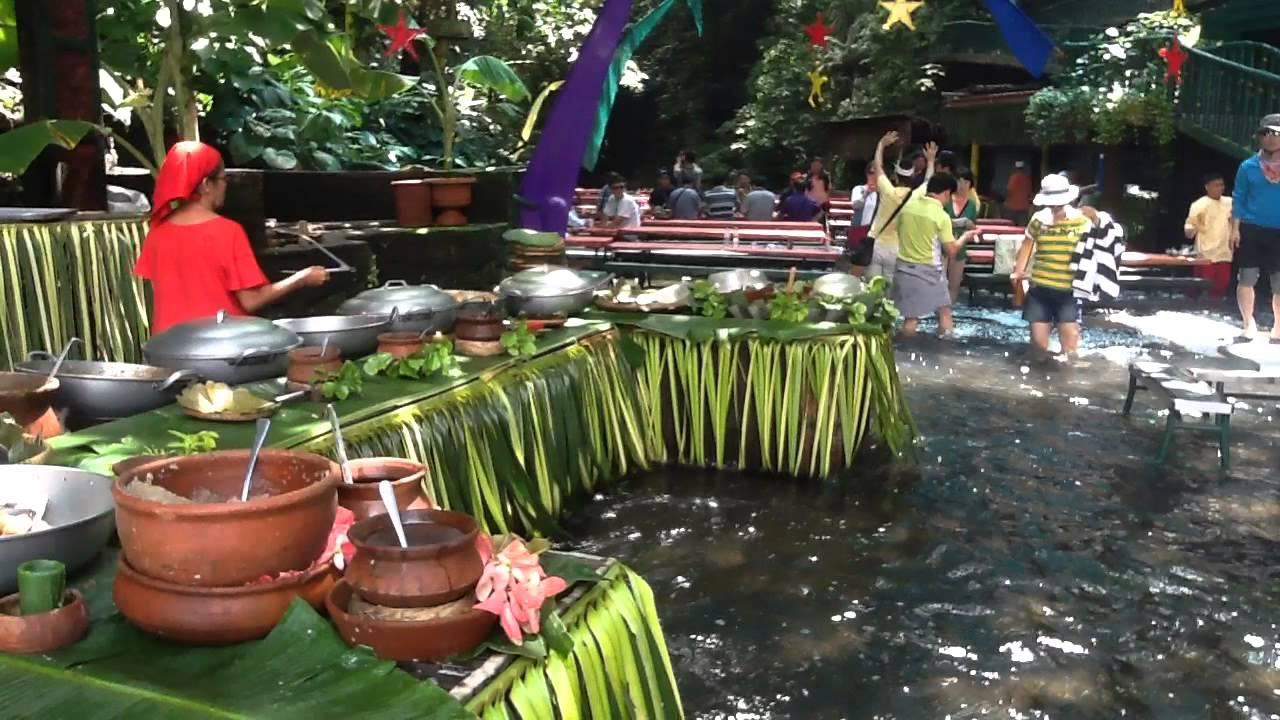 Waterfalls Restaurant At Villa Escudero Tiaong Quezon