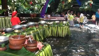 Waterfalls Restaurant at Villa Escudero - Tiaong, Quezon