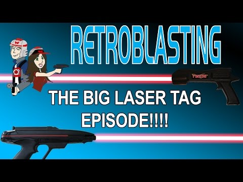 THE BIG LASER TAG EPISODE! Lazer Tag Photon Worlds of Wonder