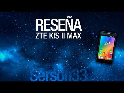 Revisión a fondo - ZTE Kis II MAX