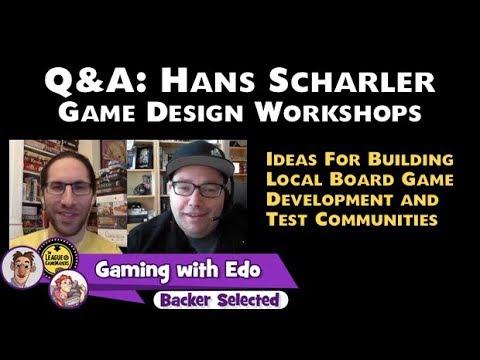 Q&A: Hans Scharler - Game Design Workshops