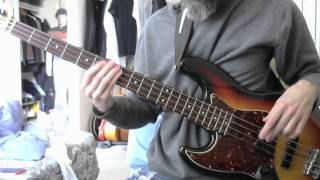 They Might Be Giants - ECNALUBMA (bass cover)