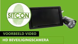 instructievideo draadloze LCD met draadloze camera