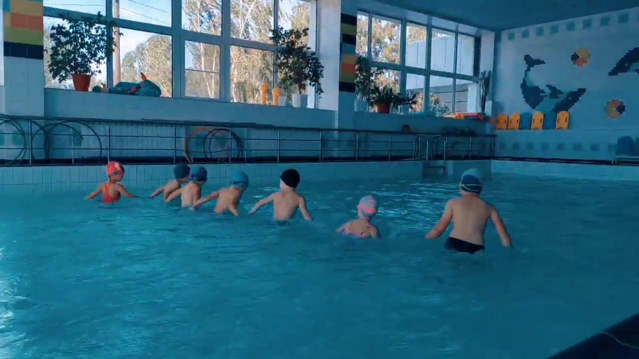 Открытие нового плавательного сезона
