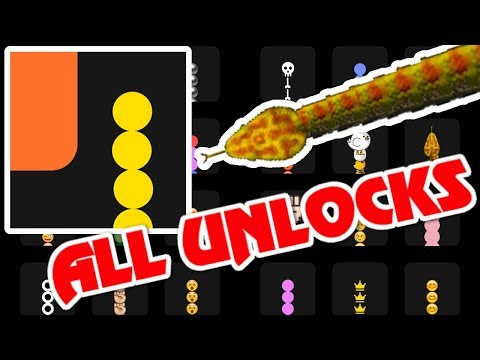 Snake VS. Block All Unlocks!