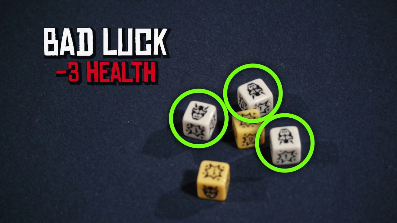 """07 - Big Trouble in Little China: the Game - """"How to Play"""" Dice"""