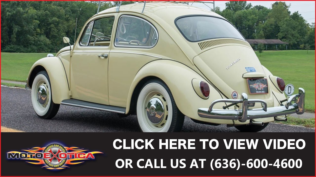 1967 Volkswagen Beetle Sold