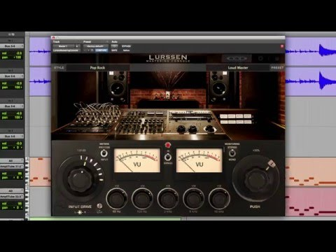 Lurssen Mastering Console for Mac/ PC - Overview