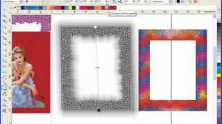 Уроки CorelDRAW: рамка для фотографии в стиле мозаики.