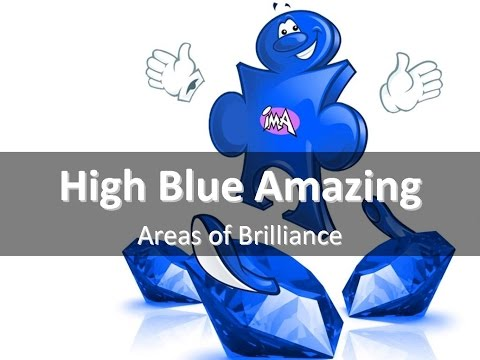 High Blue Amazing Areas Of Brilliance