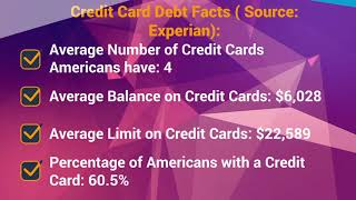 U.S Credit Card Debt Facts 2019