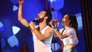 Agustín Sierra e Inbal Comedi la rompieron con un clásico de Rodrigo en Cantando 2020