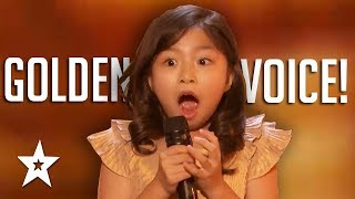 shocking audition of 9 yr old girls best of 2017 agt