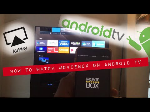 HOW TO WATCH MOVIEBOX ON ANDROID TV   AIRPLAY ON SONY BRAVIA USING AIRSCREEN