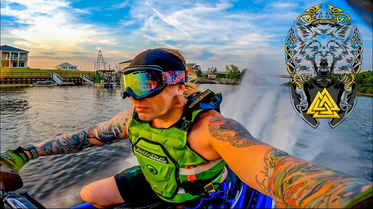 Just Another Day Jet Skiing Myrtle Beach South Carolina   4K