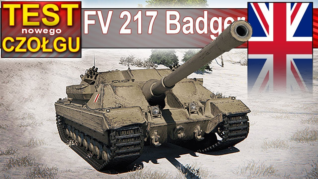 FV 217 Badger – wszystko MAX – 4800 DPM! – World of Tanks