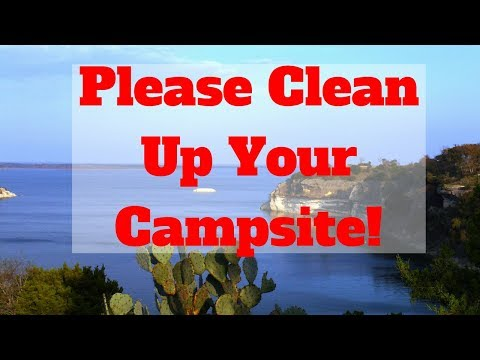 Please Clean Up Your Campsite – Drone – Kitten With A Drinking Problem