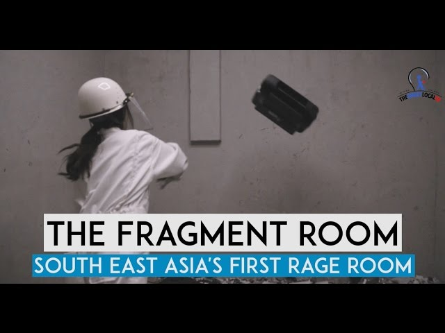 The Fragment Room - South East Asia's First Rage Room