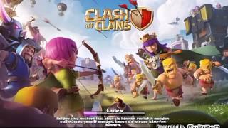 Ich spiele heute Clash Of Clans Ich mache 2 Angriffe