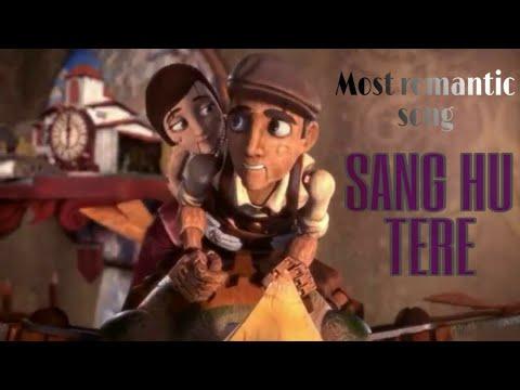 Animated Love Story Song || Sung Hu Tere || Most Romantic Hindi Song || BTA
