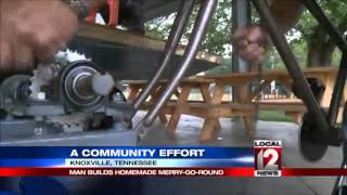 Knoxville Man Builds Merry-go-round To Inspire Giving