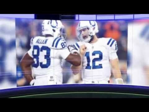 Andrew Luck, Dwayne Allen propel Indianapolis Colts in rout of New York Jets
