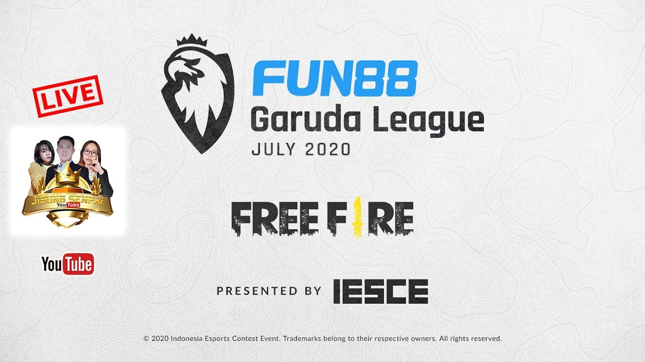 FUN88 GARUDA LEAGUE JULY 2020 FF DAY 13 - IESCE ESPORTS TOURNAMENT