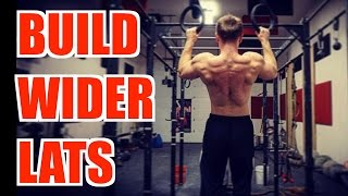 Top 5 Exercises to Build WIDER LATS