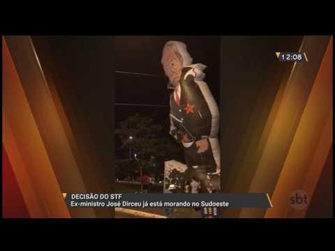 Decisão do STF: Ex-ministro José Dirceu já está morando no Sudoeste