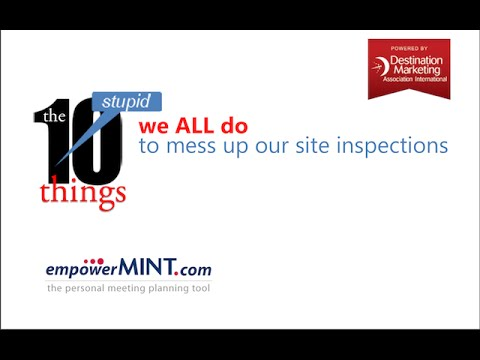 10 Stupid Things We Do To Mess Up Our Site Inspections