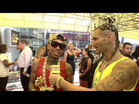RiFF RaFF interviews Tyga at MTV VMAs | Weird Vibes Ep12