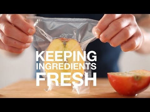 Why Package Food • Keeping Ingredients Fresh • ChefSteps