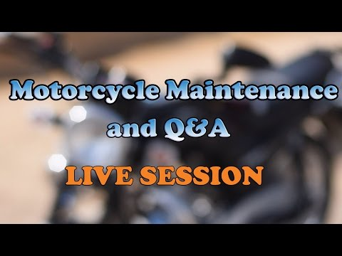 Motorcycle Q&A - Live Session