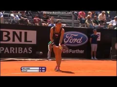 Serena Williams vs Simona Halep Full Highlights Semifinal  WTA Rome 2013