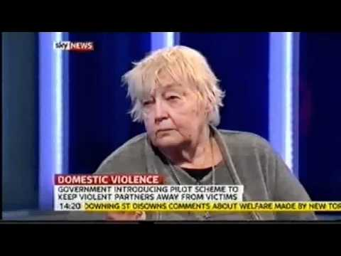 Feminism - Erin Pizzey- Law to Evict Men from Home without Sufficient Evidence