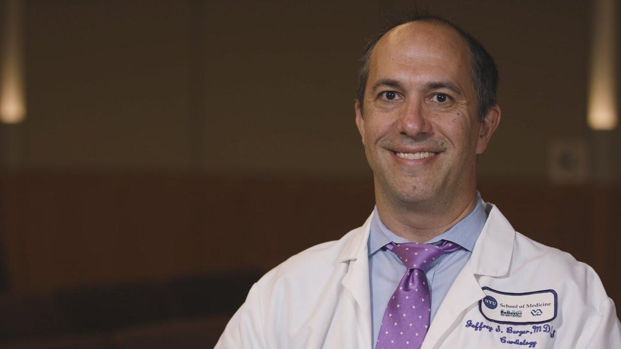 Meet Cardiologist Dr. Jeffrey Berger #cardiology