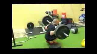 Kickstand Back Squats: A better way to train single leg squats