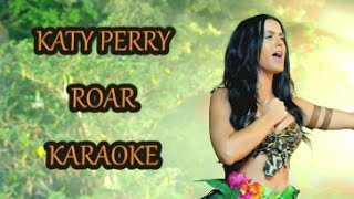 KARAOKE 🎤 KATY PERRY ROAR 🐯 With Backing Vocals ♫