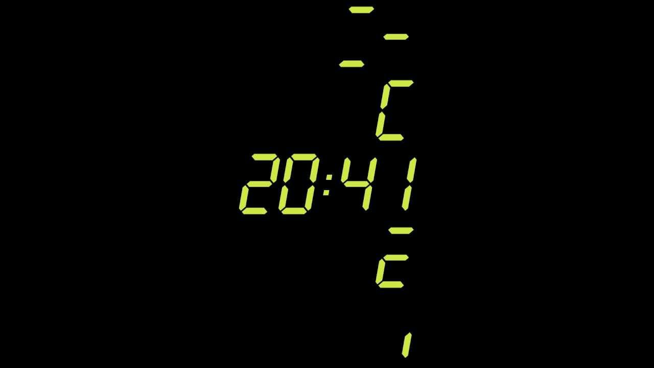 30 minute digital countdown timer