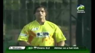shoaib akhtar devastating over in T20 CUP