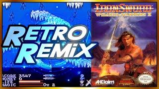 RETRO REMIX: #2-01 Ironsword (NES) - Icefire Mountain